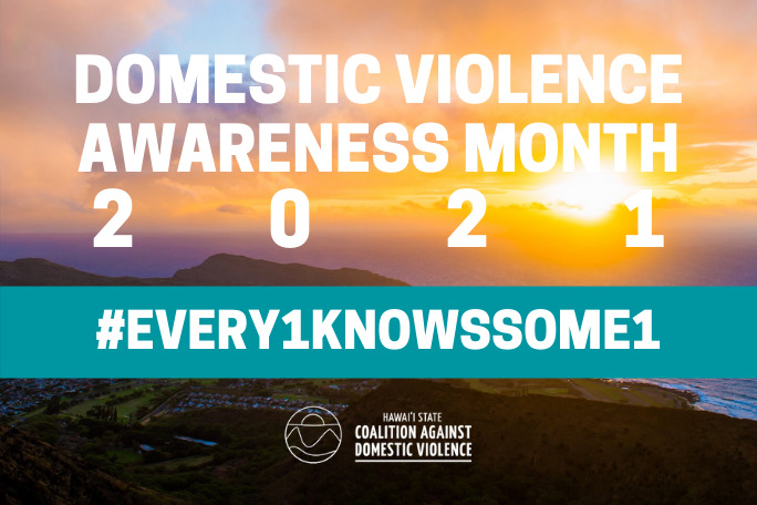 Domestic Violence Awareness Month 2021